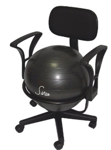 Office Balance Ball Chairs With Arms - Ball chairs for office